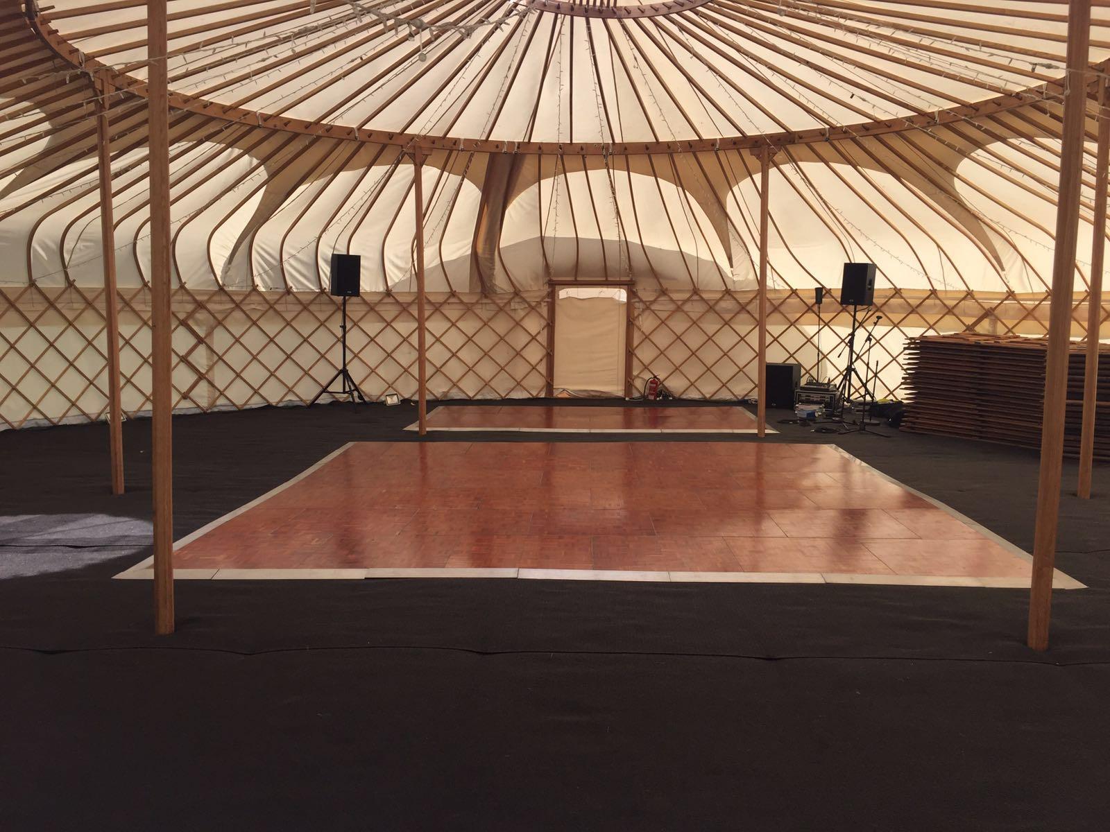 Parquet Dance Floors To Hire Interlocking Dance Floor