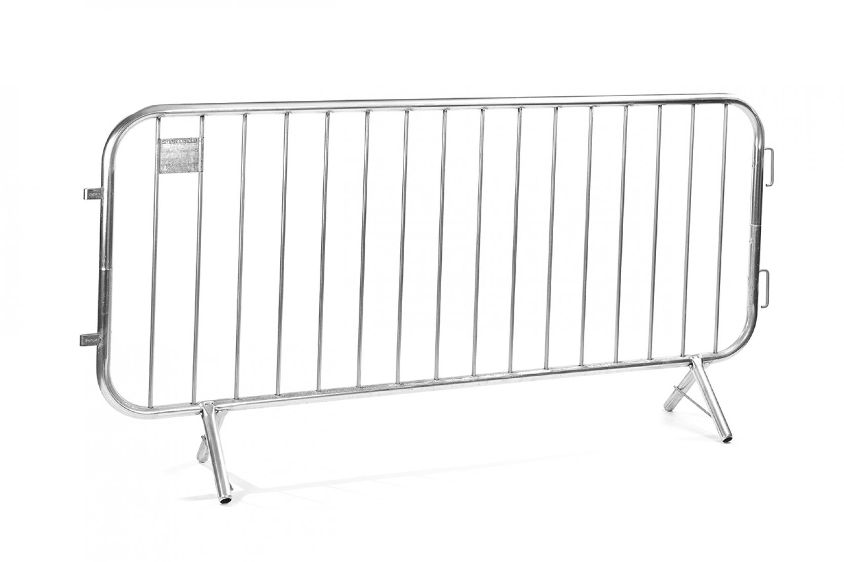 Crowd Control Barrier Fencing for Hire - 2.3m Fencing Barrier - BE Event Hire
