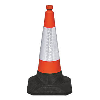 Orange 500mm Traffic Cones for Hire - BE Event Hire