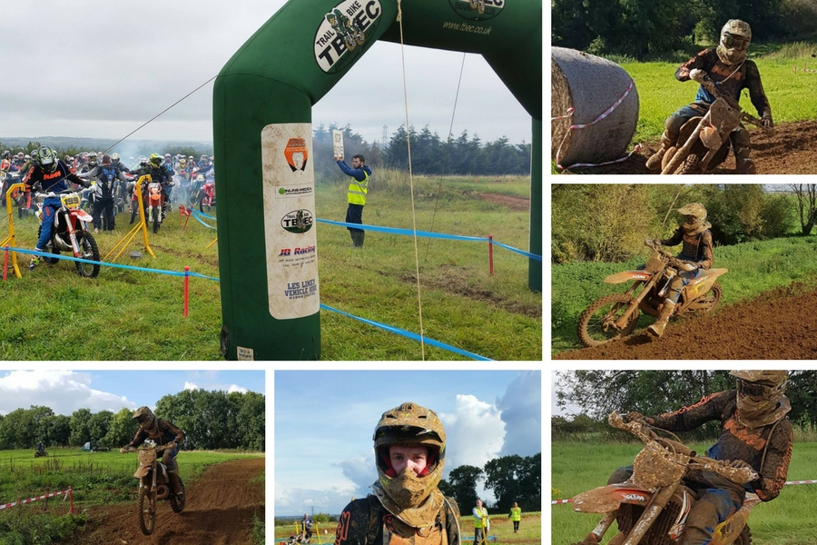 Be Event Hire Sponsored Off Road Motorcycle Rider Luke