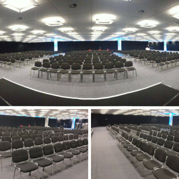 Conference Chairs at Intel - BE Event Hire