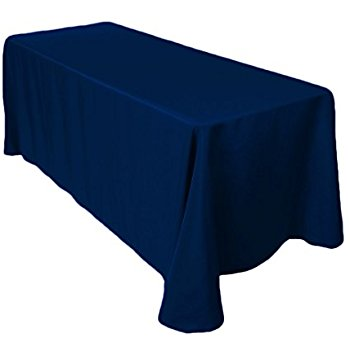 Navy Blue Table Cloths