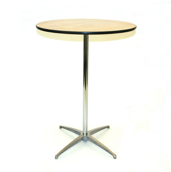 Round 2'6'' Diameter Table To Hire - Weddings, Events - BE Event Hire