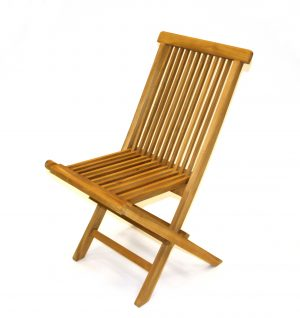 Teak Garden Chair - Cafes, Events, Exhibitions - BE Event Hire