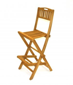 Teak Bar Stool Hire - Cafes, Events, Exhibition Bar Stools - BE Event Hire