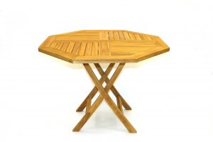 Teak Garden Tables for Hire - BE Event Hire