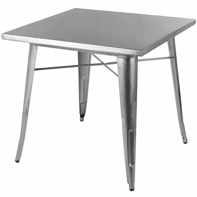 Tolix Metal Table Hire - BE Event Furniture Hire