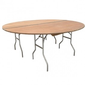 7' Diameter table