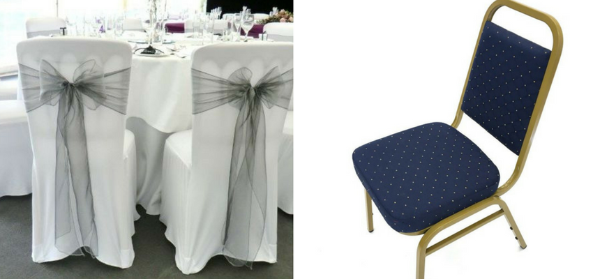 Banqueting Chairs - Types of Wedding Chairs - BE Event Hire