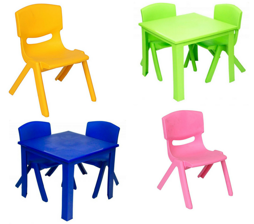 Childrens Tables and Chairs to Hire - BE Event Furniture Hire