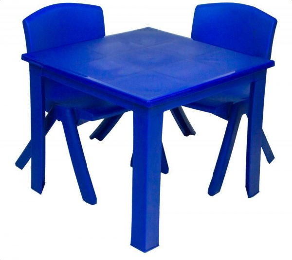 Childrens Table Hire - Blue - BE Event Hire