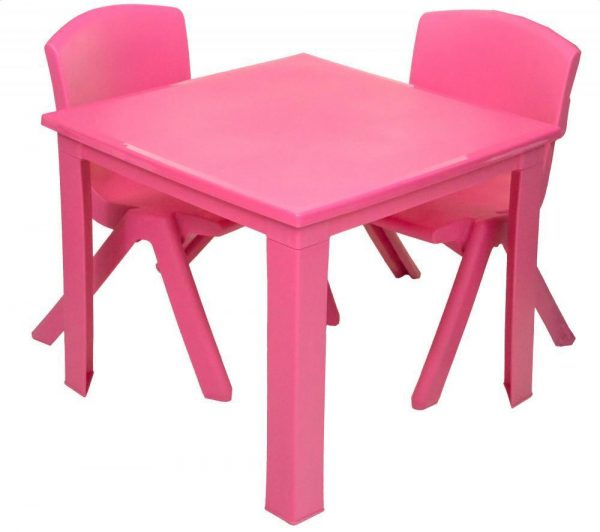 Childrens Table Hire - Pink - BE Event Hire