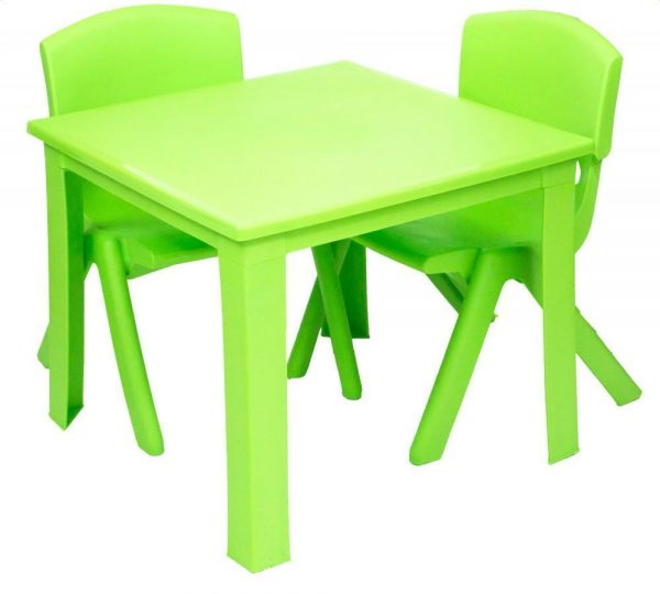 Childrens Table Hire - Green - BE Event Hire