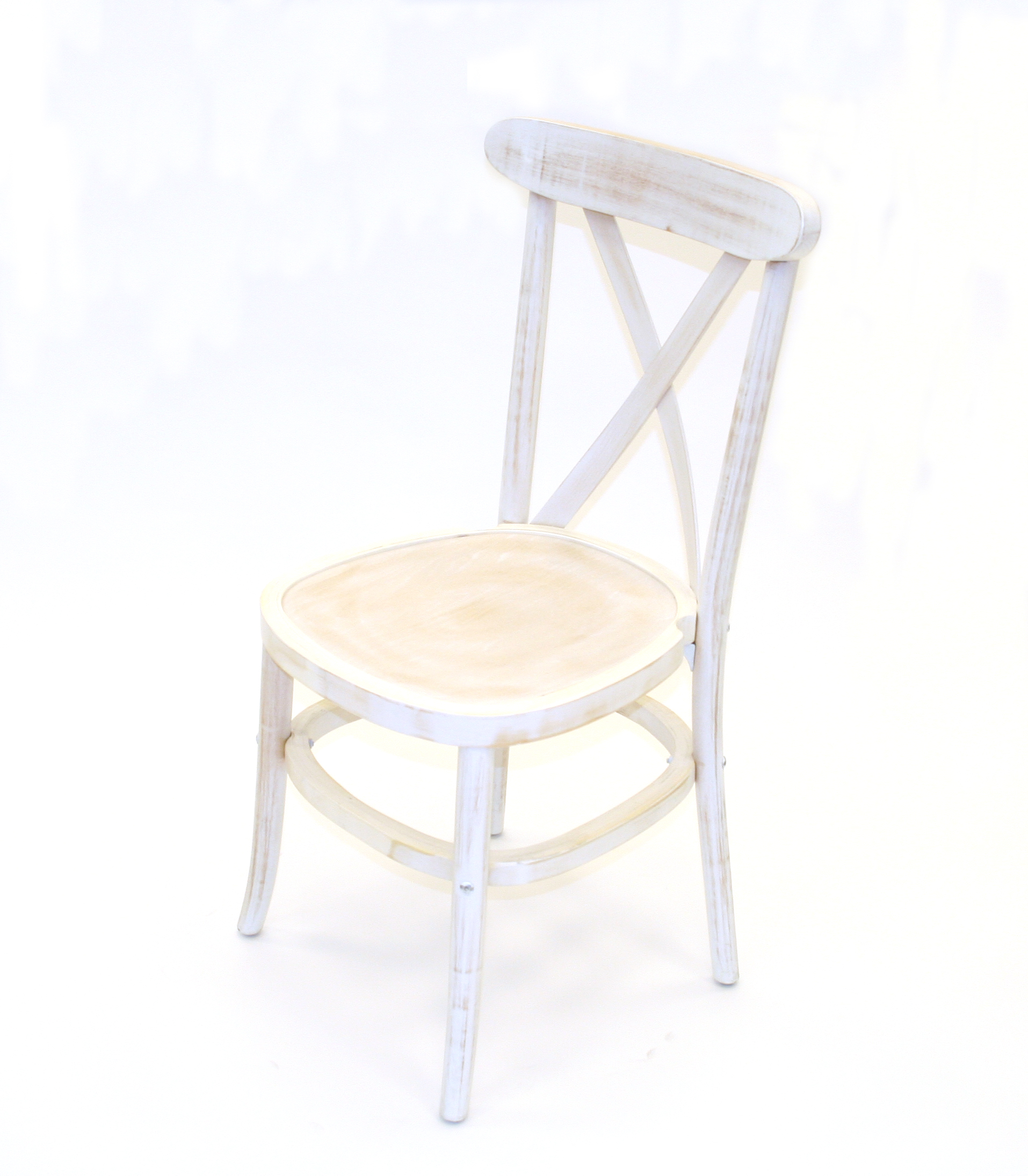 Limewash crossback chairs weddings functions events be event hire