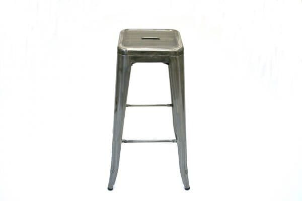 Tolix Bar Stool Hire - Indoor & Outdoor Events - BE Event Hire