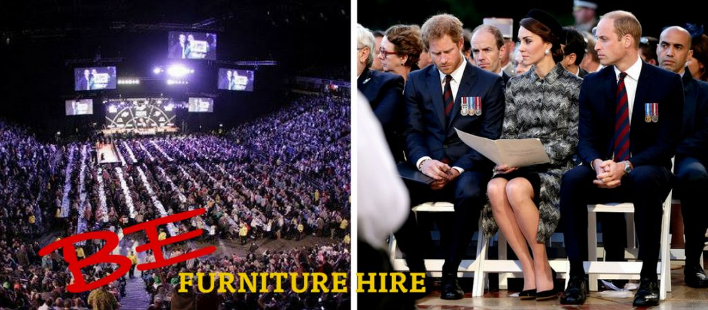 Table and Chair Hire across the UK - BE Event Hire