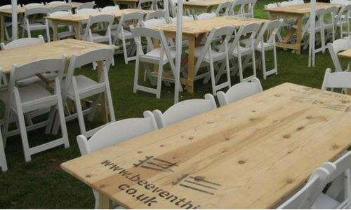 Trestle Table Hire - Table Hire - BE Event Hire