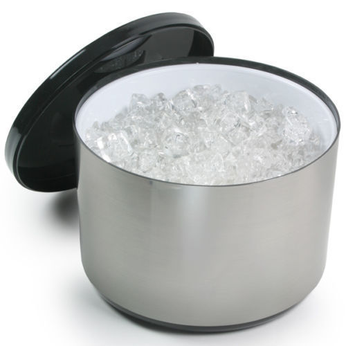 10 Litre Silver Ice Buckets To Hire From Be Event Hire