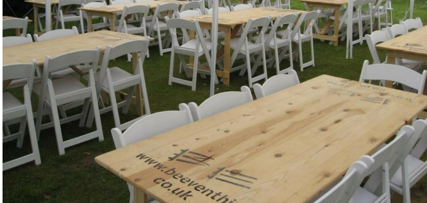 Trestle Table Hire Guide - BE Event Furniture Hire
