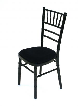 Black Chivari Chair Hire - Weddings, Event Chair Hire - BE Event Furniture Hire