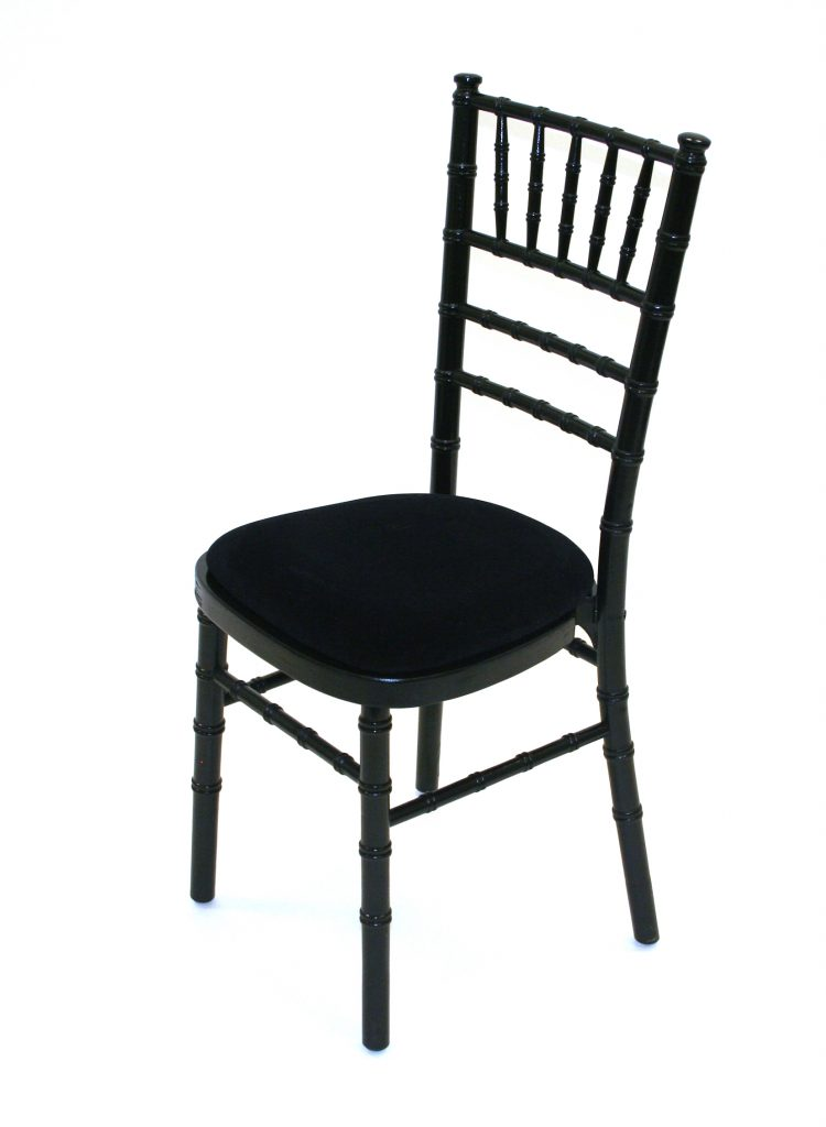 Black Chiavari Chair Hire - BE Event Furniture Hire