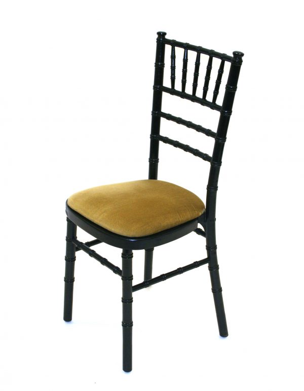 Party Chairs in black