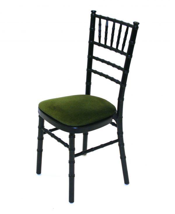Chiavari Chairs in black