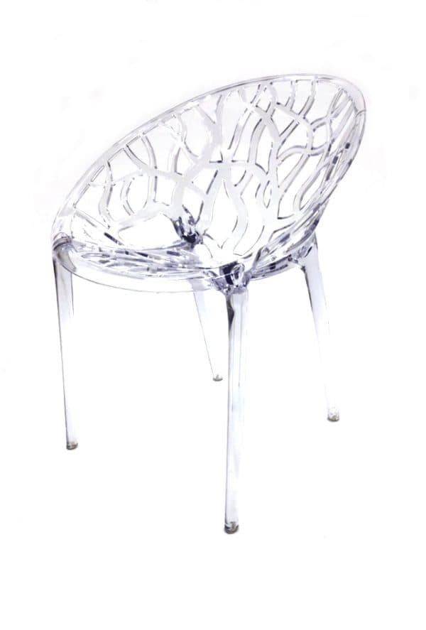 Clear Umbria Chair Hire - BE Event Furniture Hire