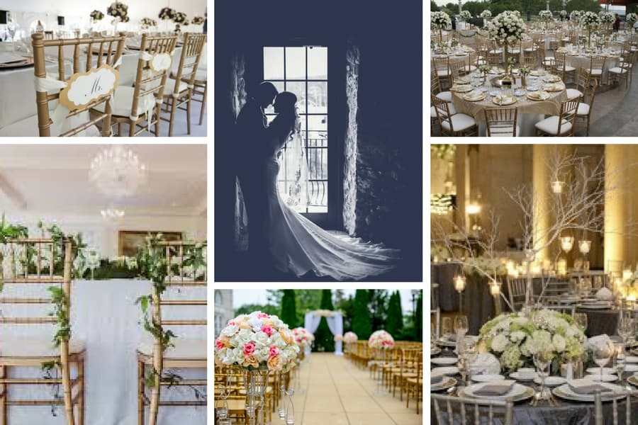Wedding Chair Hire Guide - BE Event Furniture Hire