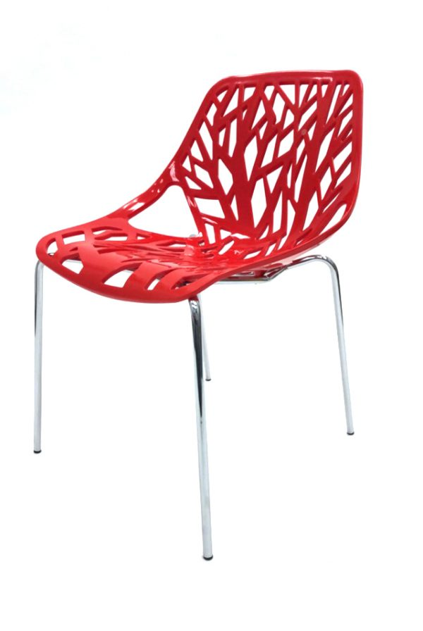 Red Tuscany Stacking Chair Hire - Forest Chair - BE Furniture Hire