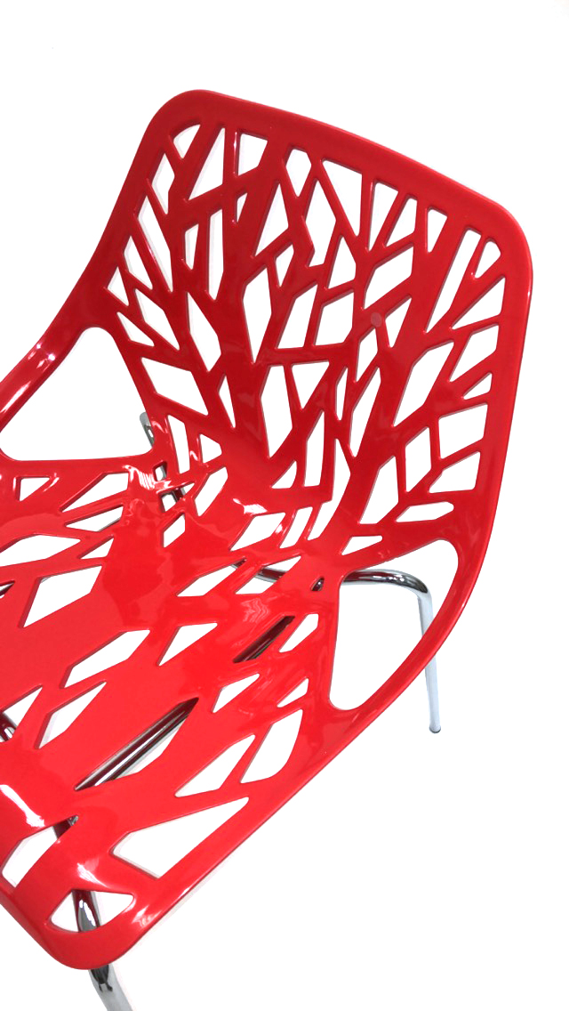 Red Tuscany Stacking Chair Hire Forest Chair Be