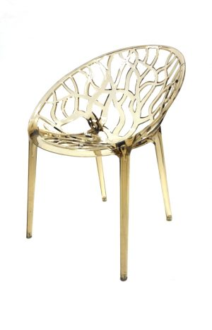 Amber Umbria Stacking Chair Hire - Tree Chair - BE Furniture Hire