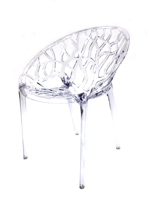 Clear Umbria Chair - Contemporary Chair Hire