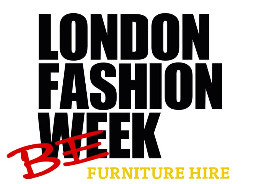 London Fashion Week Furniture Hire by BE Event Furniture Hire