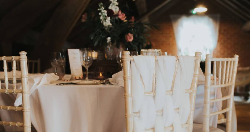 How Much Does Wedding Furniture for 100 Cost to Hire - BE Furniture Hire
