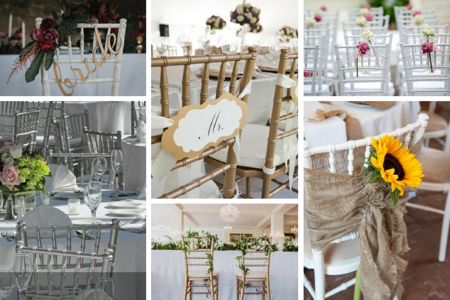 How much does it cost to hire chiavari chairs? - BE Event Furniture Hire