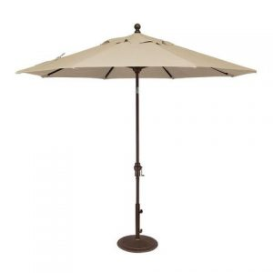 Cream Parasol - Patio Umbrella to Hire - BE Event Hire
