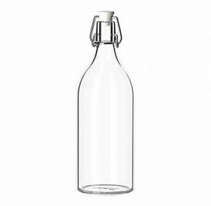 1 litre Glass Bottle Hire - Glassware Hire - BE Event Hire