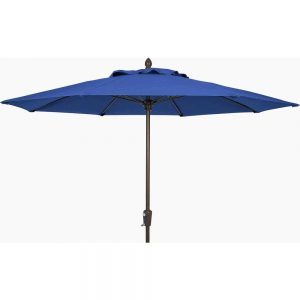 Blue Parasol - Patio Umbrella to Hire - BE Event Hire