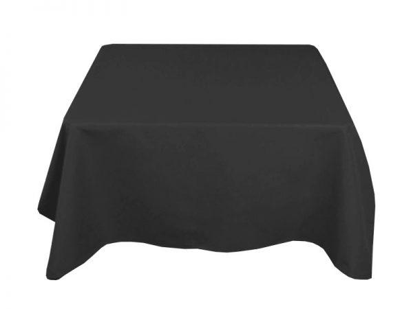 Black 70 x 70 Cloth