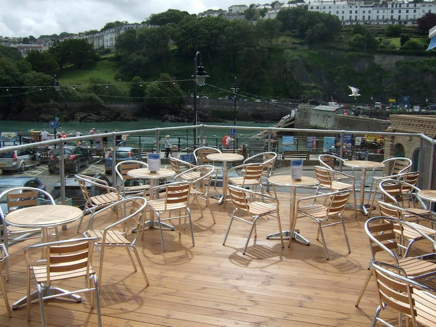 Bistro Table Hire Guide - Bistro Tables at Seaside - BE Event Furniture Hire