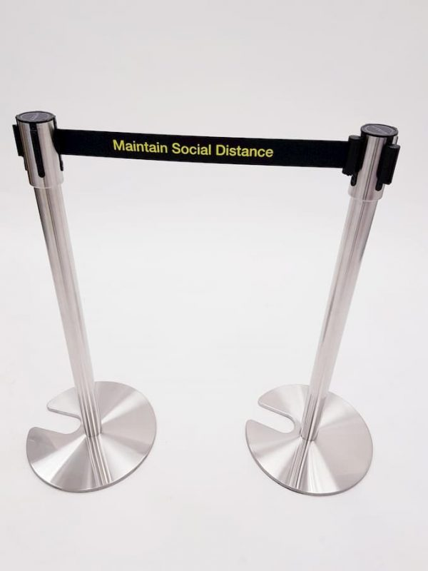Stretch Barrier - Maitain Social Distance - BE Event Furniture Hire