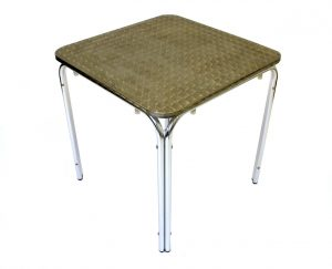 Square Aluminium Table