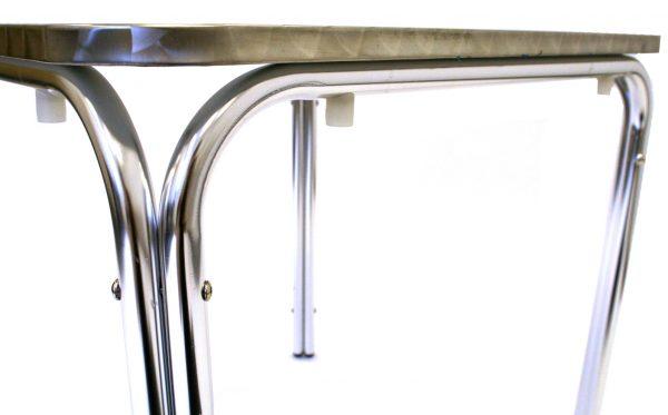 Square Aluminium Table