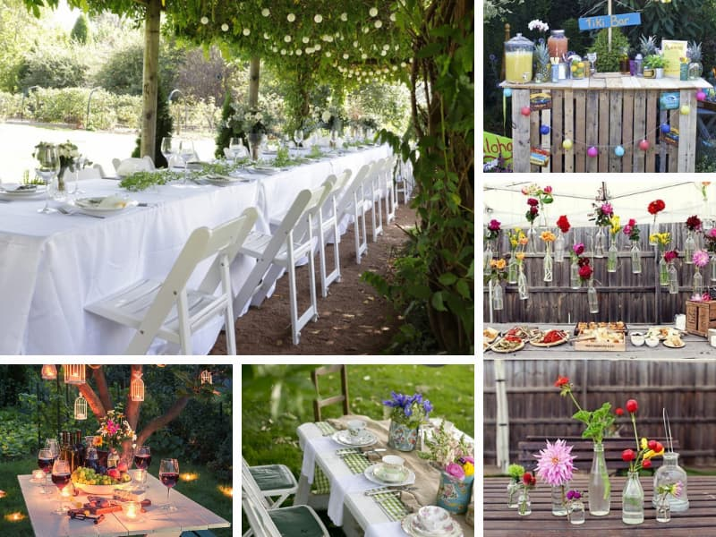 Spring Garden Party Ideas - BE Event Furniture Hire