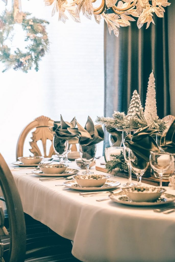 Christmas Party Cutlery Hire - BE Event Furniture Hire